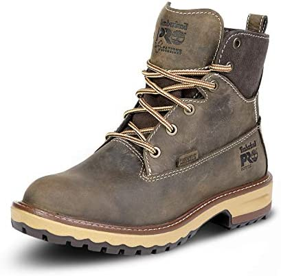 Timberland PRO Women s Hightower 6 Inch Soft Toe Waterproof Work Boot Turkish Coffee Full Grain product image
