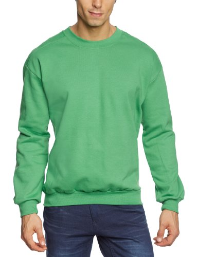 Anvil - Sweat-Shirt - Col Ras Du Cou - Manches Longues Homme - Vert - Grün (Gap-Green Apple) - FR : Xxx-Large (Taille Fabricant : XXXL) (Brand size : XXXL)