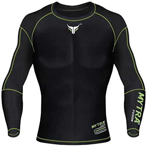 41wlTY ZONL. SS500  - Mytra Fusion Bjj Power Layer Base Layer Compression Rash Guard