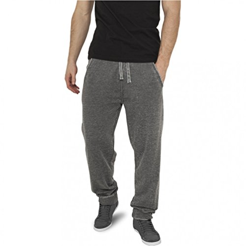 Urban Classics Burnout Pantalon de Sport, Bleu Ciel (00210), M Homme
