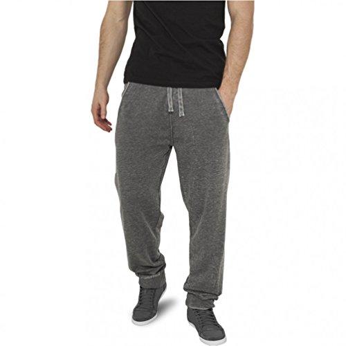 Urban Classics Burnout Sweatpants Pantalon de Sport, Blau (SkyBlue 00210), Medium Homme