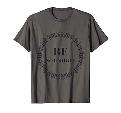 Be Notorious Lace Circle RBG design for Men/Women Feminist T-Shirt