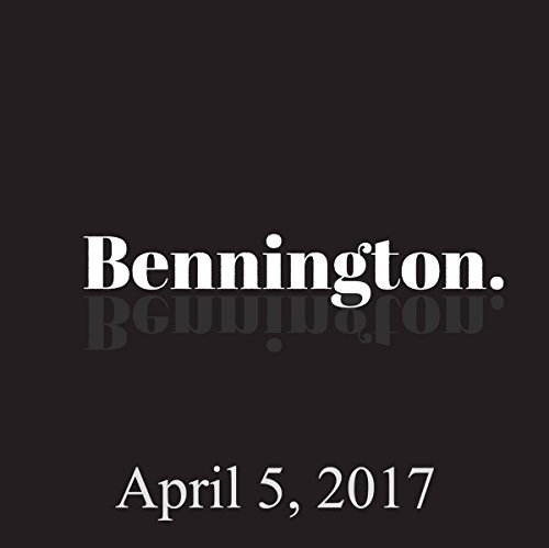 Bennington, Robbie Robertson and Chad Zumock, April 5, 2017 audiobook cover art