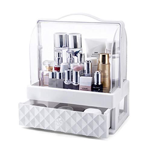 ANANAN Caja de Almacenamiento de cosméticos,Organizador de Escritorio,cajón, Productos portátiles para el Cuidado de la Piel a Prueba de Polvo, se Utiliza para almacenar cosméticos,A