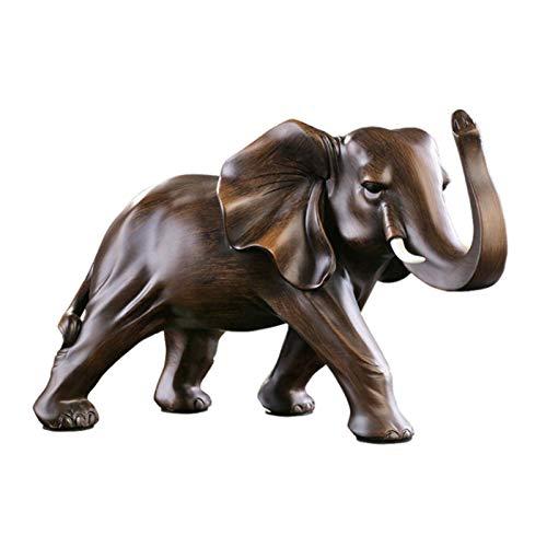 Elefanten deko,Glückselefant,Elefant Statue Skulptur Feng Shui Glück Reichtum Home Desktop Dekoration Geschenk