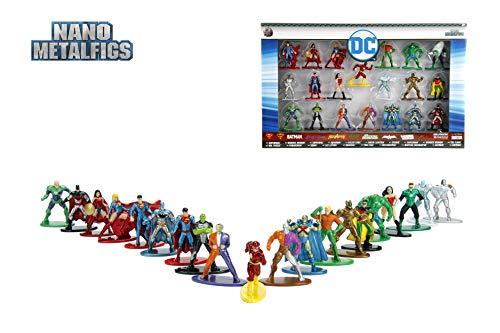 Jada Pack 20 Figuras DC Comics, Multicolor (0801310844090) 2