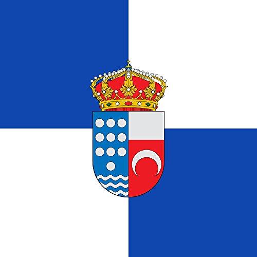 magFlags Bandera Large Municipio de Santa María del Tiétar Castilla y León | 1.35m² | 120x120cm