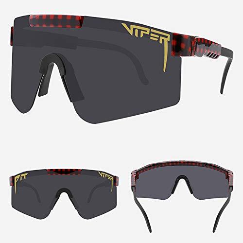 Gafas De Sol Polarizadas para Ciclismo Bicicleta Running Deportes Protección UV 400 Anti Viento para Hombre Y Mujer,4