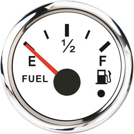 125/175/395/225/395/375/425mm Kraftstoffstand des Kraftstoffstands Sensor Kraftstoff Absender Einheit Fit Tankanzeige Wasserstand Meter 0-190/240-33OHM Wassermesser (Color : WS Fuel Level Gauge)
