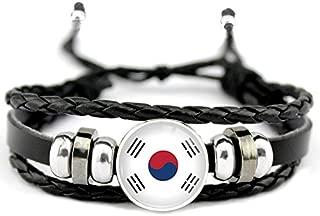 Reino Unido Irán Chile Aruba Francia Japón Japón Paraguay Austria Egipto Corea del Sur Inglaterra Australia Bandera Hombres Pulsera Mujer