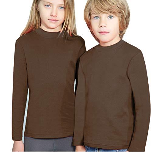 YSABEL MORA - Camiseta SEMICISNE Termal Niñas Color: Marron Talla: 2
