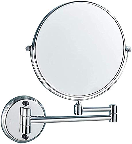 Circular Mirror Wall, Having a 3-fold Magnification, scalable and Foldable Mirror HD,Round Base