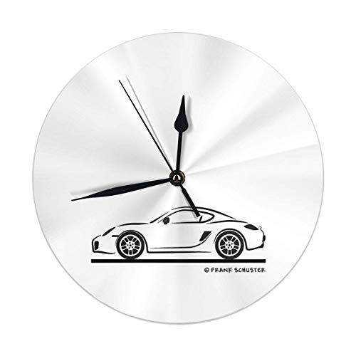 Oh Sweety Porsche Cayman 987 Round Home Decor Wanduhr 9,84 '
