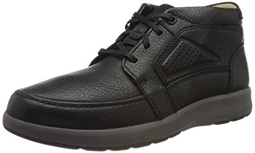 Clarks Herren Un Trail Limit Derbys, Schwarz (Black Black), 43 EU