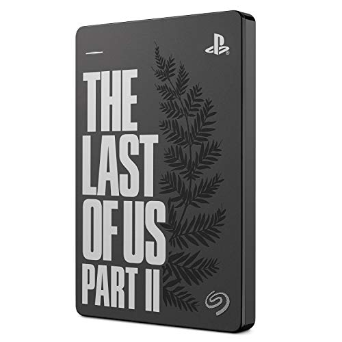 Seagate Game Drive para PS4 2 TB, Disco duro Portátil Externo HDD: USB 3.0, The Last of Us II Special Edition, compatible con PS4 y PS5 (STGD2000103)