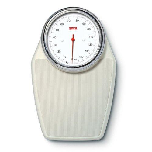 Seca 760–Bilancia pesapersone meccanica con misurazione di precisione–Bianco (Ecru)