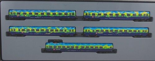 MÄRKLIN 87300 SET DE 5 VOITURES DE VOYAGEURS TRAIN TOURISTIQUE Z DE LA DB AG