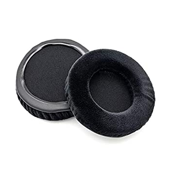Ear Pads Replacement Cushions Covers Foam Earmuffs Compatible with Beyerdynamic DT770 Pros DT 770-PROs DT770pros Headset Headphone  Black
