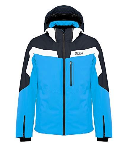 COLMAR Herren Skijacke Sapporo Jacket 1306, Farbe:Blau, Größe:54, Artikel:-355 Blue/White/Navy