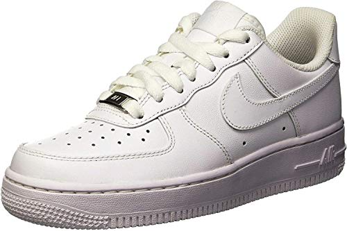 NikeWMNS AIR FORCE 1 07 - Calzado de deporte Mujer, Blanco (White / White), 39 EU