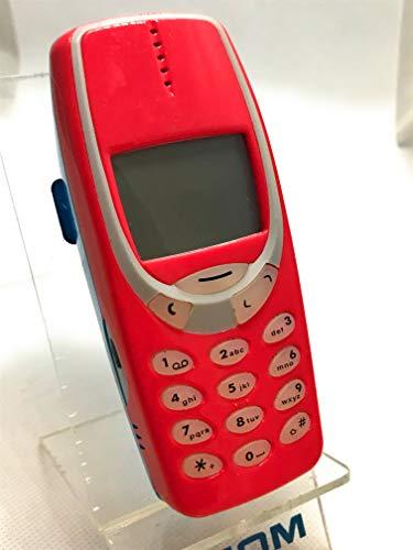 Nokia 3310 - Teléfono móvil (teléfono y batería), Color Rojo y Azul