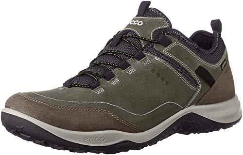 ECCO Men's Esphino GORE-TEX waterproof Hiking shoe, Tarmac/Tarmac, 40 EU / 6-6.5 US