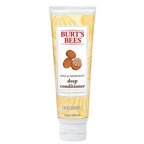 Burt's Bees Hair Repair Shea and Grapefruit Deep Conditioner, Sulfate-Free Conditioner - 5 Ounce Bottle