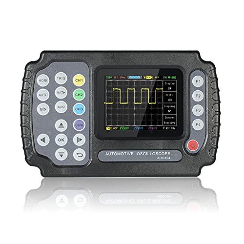 WEI-LUONG Osciloscopio ADO104 4 Canales AC100-240V Diseño Ultrafino USB 100MSA / S Multímetro de Mano Multímetro de Mano osciloscopio