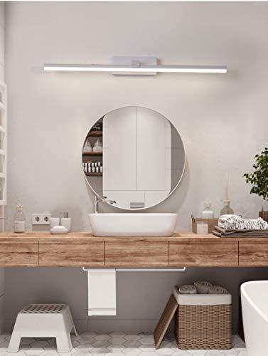 RAQ Moderne LED-wandlamp voor thuis wit & zwart afgewerkte badkamerlamp spiegel frontlampen 120 100 80 60 cm China Black Carrosserie