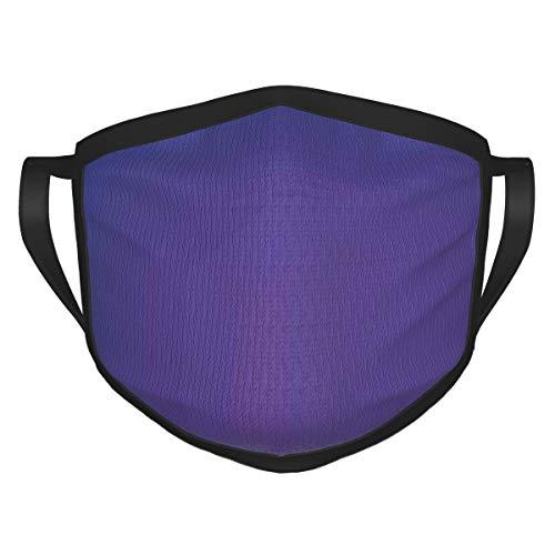 best& Violet Vivid Color Con Púrpura Rosa Parece Sombra Cara Cubierta Escudo Boca Cuello Bufanda Unisex A Prueba De Viento Transpirable Reutilizable Anti Polvo Escudo Negro