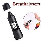 Fall Alcoholimetro Digital, Profesional Digital Alcoholímetro, Probador del Alcohol portátil con Pantalla LCD