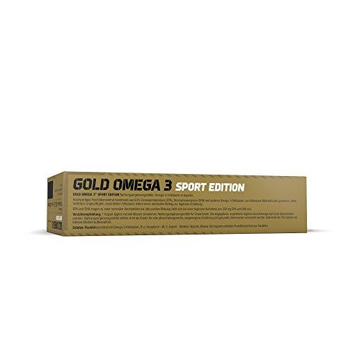 Olimp Gold Omega 3 Sport Edition 120 Kapseln, 1er Pack (1 x 151,2 g) - 6