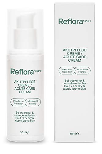 Reflora Skin Akutpflege Creme (50ml) – Beruhigt juckende, trockene, sensible und zu Neurodermitis neigende Haut