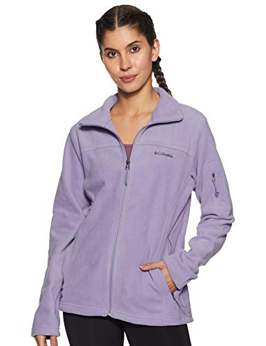 Columbia Damen Fast Trek II Fleece-jacke, Lila (Dusty Iris), XS