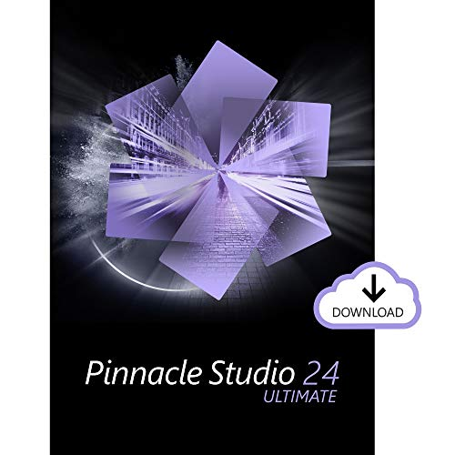 Pinnacle Studio 24 Ultimate | Advanced Video Editing and Screen Recording Software [PC Download]