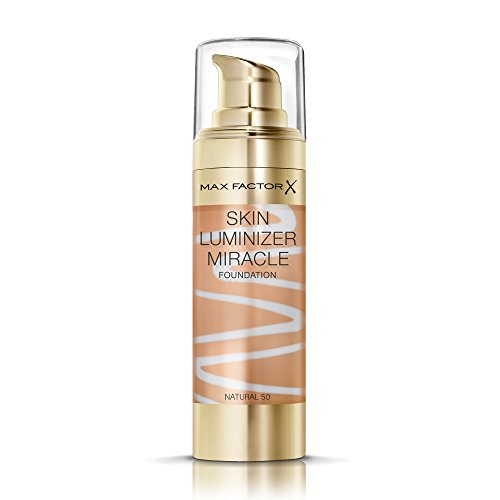 Max Factor Skin Luminizer Miracle Foundation, 50 Natural, 1er Pack (1 x 30 ml)