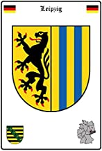BlechschilderWelt Targhetta Smaltata Numero civico 14 Blu//Bianco 12 x 14 cm Targa in Metallo Decorazione Tin Sign
