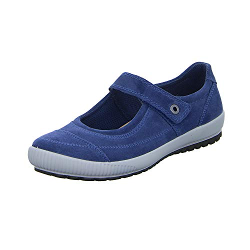 Legero TANARO, Damen Ballerinas, Blau (Indaco (Blue) 86), 41 EU (7 UK)