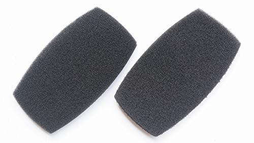 Earpads Cushion Repair Parts for Beyerdynamic DT100 DT109 DT150 DT190 DT-100 DT-109 DT-150 DT-190 Headset 1 Pair (Tuned Cotton)
