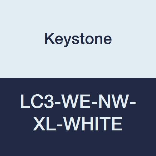Max 44% OFF Special price for a limited time Keystone LC3-WE-NW-XL-WHITE Polypropylene Lab El Coat 3 Pocket