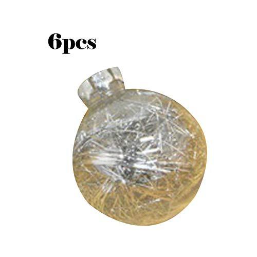 Decoraciones de Navidad Bolas de Navidad Centro Comercial Techo Decoración de Ventana Bolas de árbol de Navidad...
