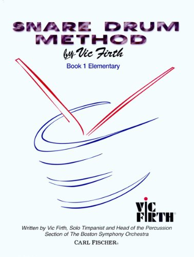 O4653 - Snare Drum Method Book 1 - Elementary (CAISSE CLAIRE)