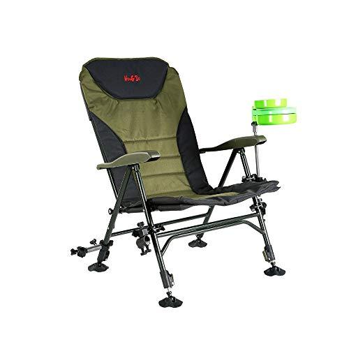 LHTCZZB Silla de pesca plegable Silla de pesca Tela Oxford + ABS + Material de aleación de aluminio reforzado Anti-patín impermeable y transpirable Adecuado para silla de camping al aire libre para el
