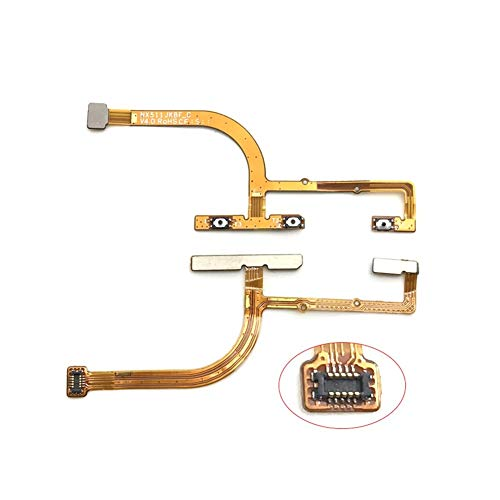 DressU Ursache Top-Qualität for ZTE Nubia Z9 NZ511J NX511J ON und Off-Schalter Knopf-Flexkabel-Ersatzteil Unterschied