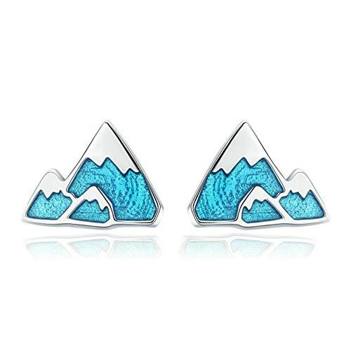 Pure Silver Ear Nails Iceberg Allergiefreie weibliche Ohrringe