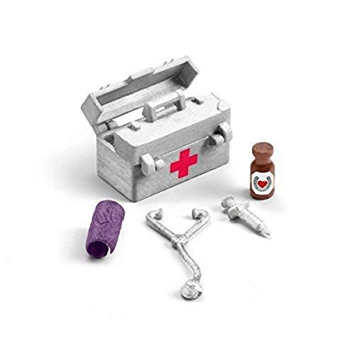 SCHLEICH SLH42364 Stajenny Zestaw Medyczny ,wielokolorowy
