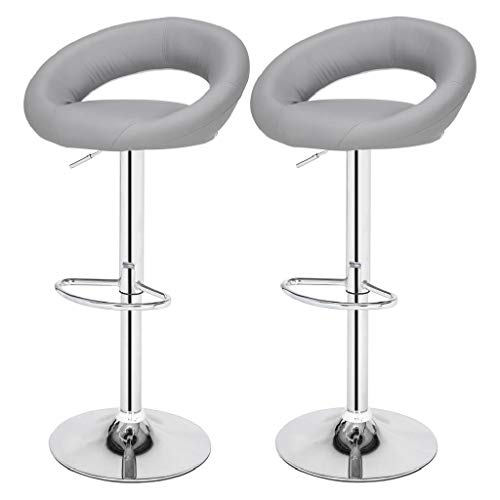Cushion Computer Chair Bar 2 YH-6010A Moon Bay Round Cushion Computer Chair Bar Lift Chair Grey