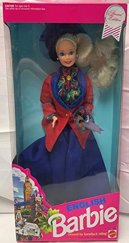 Barbie 1991English Doll - Dressed for Horse Back Riding