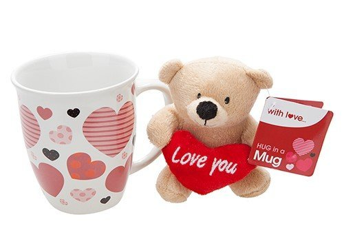 Orsetto I LOVE YOU con tazza 445008