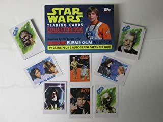 star wars bubble gum cards